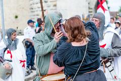 DSC_9829 (mokaworld) Tags: cavalier chevalier feu oiseaux musique provins spectacle jongleur vollibre rapaces cracheur mdivales nikond4 tourcesar equestrio