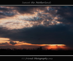 special sunset (drbob97) Tags: trees light sunset sky cloud sun tree beautiful clouds landscape bomen ray magic nederland wolken sunny special netherland rays burst lucht apart wolk drbob amzing speciaal zonondergang friendsphotography drbob97