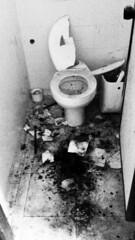 PARTY HARD (Penhalvinho) Tags: blanco broken water negro wc caca papel bao vater lavabo roto mierda suciedad vter higinico