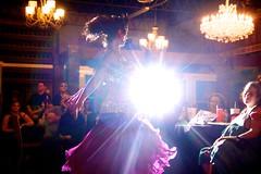 (heatherbirdtx) Tags: show light woman female dallas dance interior flash performance dancer belly flare bellydance backlit hafla richardson arapaho sundaysoiree houseofpoets
