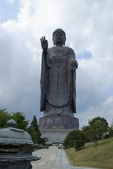 -daibutsu- (snappir) Tags: nikon sigma  greatbuddha ushiku 18200mm  d5000