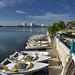 Il tratto di mare interno tra la zona hotelera e Cancun città