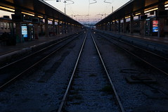 Time to hit the rails and head up to Milan (Hazboy) Tags: santa italien venice vacation italy station train europa europe track italia bahnhof april lucia bahn venezia stazione itali veneto  2013 litalie hazboy hazboy1 hazboyeuro