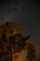 Meet the Galaxy (VamFF) Tags: newyork canon adirondacks lakegeorge galaxy newyorkstate nightview
