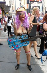 HTC One X Naked Cowgirl $andy Kane (ViewFromTheStreet) Tags: street new york city nyc newyorkcity woman newyork classic girl tongue female hair out naked photography calle amazing cowboy purple unitedstates guitar manhattan finger candid streetphotography timessquare middle nakedcowboy bigapple blick sticking pasties htc flippingthebird ilovedick andykane viewfromthestreet ladygaga sandykane stphotographia htcone htconex vftsviewfromthestreet blickcalle