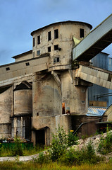 Tower (jaska_h) Tags: old tower factory cement limestone castlelike