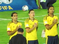 Falcao, James Y Aguilar