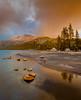 Tenaya Lake, Snowstorm Clearing, Sunset (andertho) Tags: california park sunset mountain lake reflection cool nps dusk national yosemite uncool d800 tenaya cool2 cool3 cool4 uncool2 uncool3 uncool4 uncool5 uncool6 uncool7
