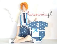 doll and wish card (harcownia.pl) Tags: wings tie card present tilda kartka tildas baptismgift tildaangel tildafabric pomysnaprezent ilovetilda tildaboy tildafuns christeninggiftidea wingsfortilda kwawat converceshoose tildafriend