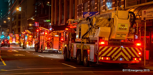 @nd Alarm Fire - Johnston St, Wgtn