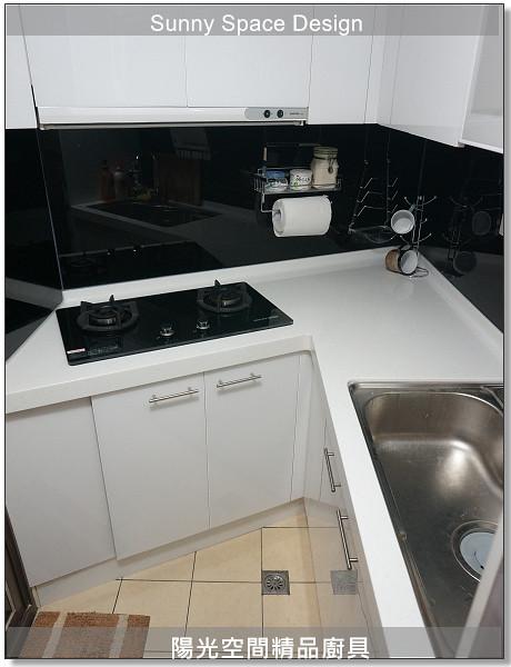 廚具│廚具大王│陽光廚具-作品244-L字型廚具-陽光空間精品廚具