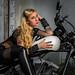 Model Jacqueline, Biker Babe Fashion Show (Asheville, North Carolina)