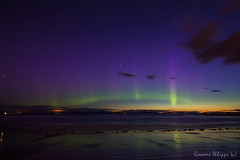 Hopeman rays (quayman) Tags: night lights coast scotland dancers aurora merry northern moray hopeman