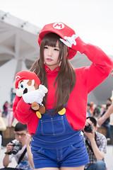 P63_001 (ms09Dom) Tags: cosplay コスプレ マリオ pf22 五木あきら itsukiakira