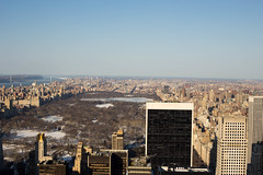 Central Park overview (Kinseri) Tags: newyork centralpark topoftherock totr