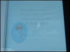 "Conjunto de batizado ""Doce Menino"" (GataPreta Artesanato) Tags: crafts artesanato batizado beb infantil decorao livrodehonra lembranasbatizado conjuntobatizado caixadebatizado"