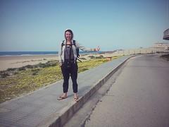 Autostop à la sortie de Cadiz