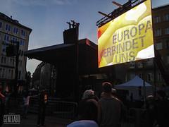 Europa verbindet uns (genelabo) Tags: münchen europa vj led ami fest marienplatz raggabund europatag genelabo