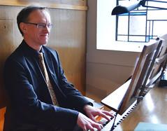 Orgelspiel macht sichlich Freude
