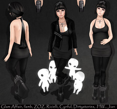 LOTD# 515 (Annika Neiro - Super busy try to catching up ♥) Tags: lamb jian genre zoz hw thedressingroom cynful dirtystories ricielli glamaffair collabor88 worldgothfair