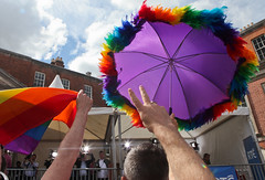 Furry Parasol: Marriage Referendum: In The Upper Yard, Dublin Castle (Skyroad) Tags: