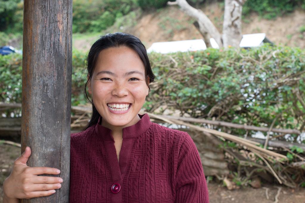 Manipuri smile