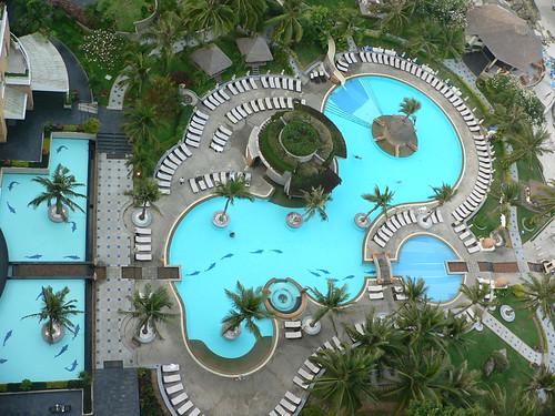 ST071 Hua Hin Hilton hotel swimming pool