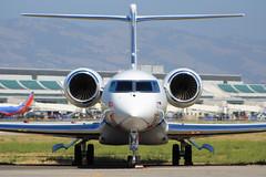 N278L (NickFlightX) Tags: plane airplane airport san jose international sjc g6 gulfstream gvi ksjc g650 n278l