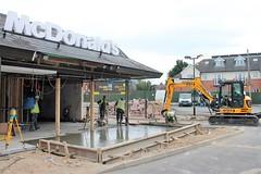 New Concrete McDonald's Major Refurbishment Rebuild Melton Mowbray Leicestershire (@oakhamuk) Tags: mcdonalds major refurbishment rebuild melton mowbray leicestershire httpmartinbrookesblogspotcouk201609mcdonaldsmajorrefurbishmentrebuildhtml