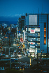 Kyoto_1 (hans-johnson) Tags: kyoto japan nihon nippon street architecture kinki kansai block road night blue sky busy canon karasuma skies vsco eos 5d3 5diii        2470 fullframe urban