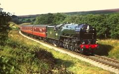 60532 (scanned slide) (feroequineologist) Tags: 60532 bluepeter lner a2 nymr northyorkshiremoorsrailway railway train steam