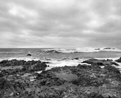 r011-07 (sheelkapur) Tags: filmisnotdead ishootfilm ilford hp5 iso400 mamiya rz67 pro gameoftones waves storm pescadero california tones sekkor mediumformat epson v800 analog analogue film landscape ocean
