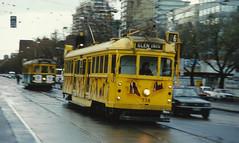 St Kilda Road (andrewsurgenor) Tags: transit transport publictransport electric streetscenes citytransport city urban trams streetcars trolleys melbourne victoria australia