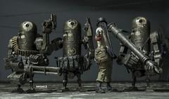 3A WWR Nom 4th + Dirty Deeds Bertie (saaaa_muel) Tags: 3a threea ashleywood toy toyphotography wwr wwrp 3ago worldwarrobot deplume nom dirtydeeds bertie