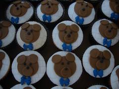 cupcakes urso @veravilleladoces (VERA VILLELA DOCES) Tags: cupcakes veravilleladoces urso festas