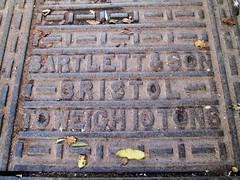 Teignmouth Bartlett and Son (Bridgemarker Tim) Tags: manholecovers teignmouth bartlettandson quays southdevon