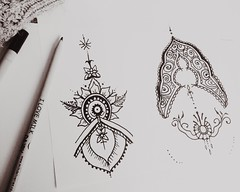 #mendi #patterns #designs #indian (R A C H E L P A I N T S) Tags: mendi patterns designs indian