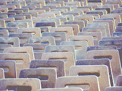 Empty Seats (only lines) Tags: empty chairs sets seating vatican st peters square rome italy