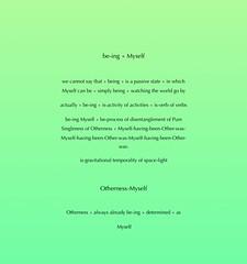 Pure Singleness of Ourself - page 15 (stan bonnar) Tags: stan bonnar art artworks public contextual video philosophy sculpture scottish artists british social contexts outdoor text