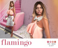 Flamingo (Anuska L.) Tags: street colorful sun shine hot fashionblog fashion fashionstyle fashionvictims femme fashionista fashionblogger fahionstyle femalefashion fresh feeltherush digital digitalart digitalphotography digitalfashion 3d 3dgirls 3dpeople 3dgirl sl secondlife tetra insol studioexposure zafair essenz davidheather kibitz justmagnetized bento vistaanimations treschic uber rama