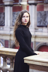 (YoungDepechist) Tags: russia motherrussia russian girl girlpower art artchitecture building autumn black