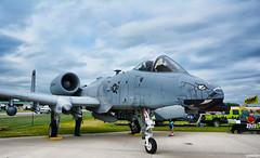 A-10C Thunderbolt II (Chad Horwedel) Tags: a10cthunderboltii warthog blacksnakes jet attack eaaairshow oshkosh wisconsin