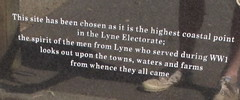 Detail of memorial Lyne Electorate (spelio) Tags: manning shire laurieton north mountain views travel nsw australia oct 2016 ww1 first world war memorial remote