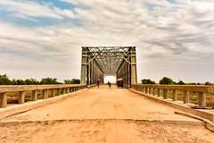 Omo River Bridge (Rod Waddington) Tags: africa african afrika afrique ethiopia ethiopian etiopia thiopien omovalley omo omoriver omorate bridge construction