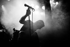 Trap Them (morten f) Tags: trap them singer wheel chair wheelchair rullestol broken feet legs brekt fot ftter vokalist vocalist bandage tour 2016 europe live concert konsert bl blaa oslo norge norway band smoke