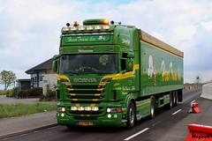 "Scania R II Topline "" HENO TRANS B.V. "" (NL) (magicv8m) Tags: tir trans transport lkw heno nl"