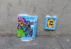 Installation by Nite Owl [Paris 2e] (biphop) Tags: europe france paris streetart nite owl niteowl installation street