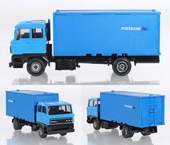 EFE-DAF-Postbank (adrianz toyz) Tags: diecast toy model ptt post office netherlands holland efsi daf 3300 van postbank adrianztoyz