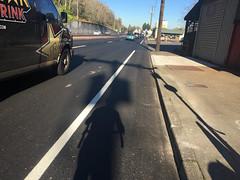 New striping on Highway 30-6.jpg (BikePortland.org) Tags: bikelanes dirty30 highway30