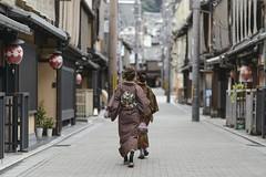 All Kimono-ed Up In Kyoto () Tags: kimono kyoto japan girls women street nikon d800 85mm